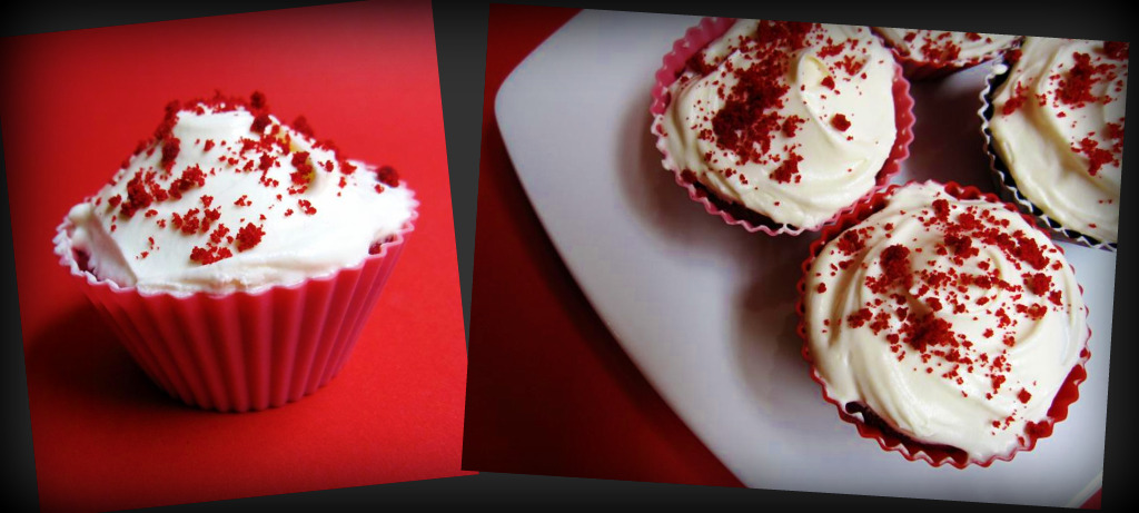 hummingbird bakery's red velvet cupcake