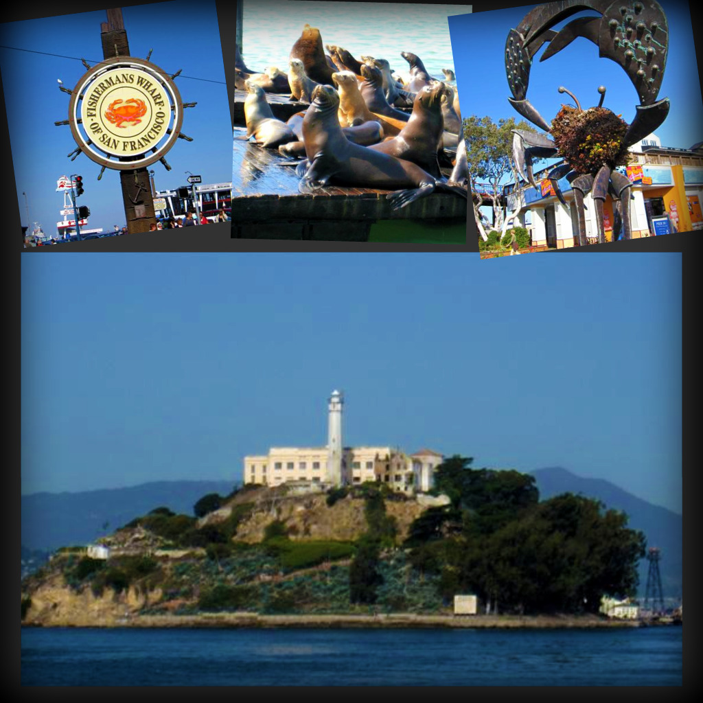 Fisherman's Wharf and Alcatraz Island