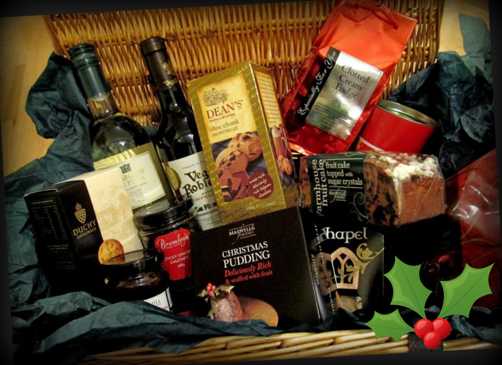£65 Interflora Christmas hamper