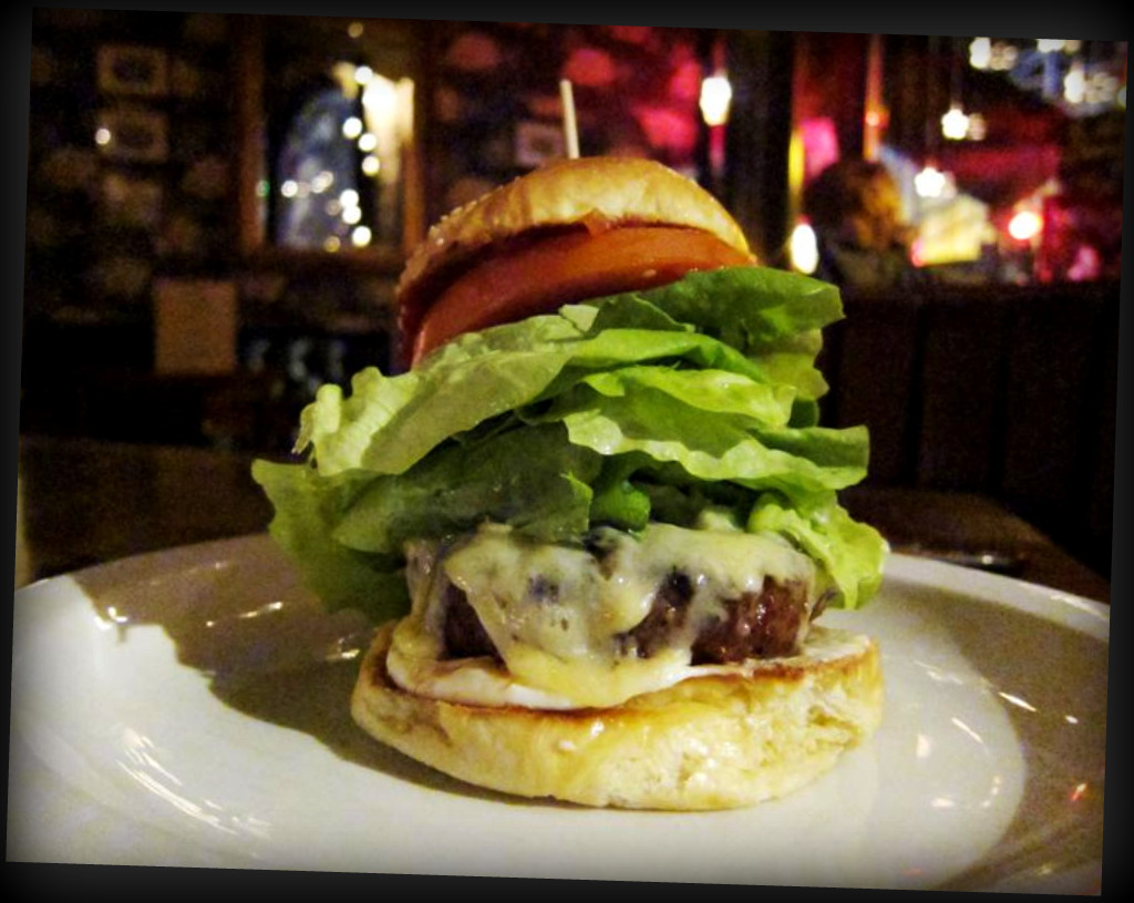 the Grand Union cheese burger