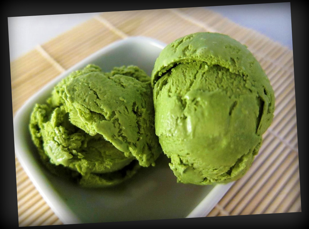 green tea ice cream: I think I have to marry me. – thecattylife