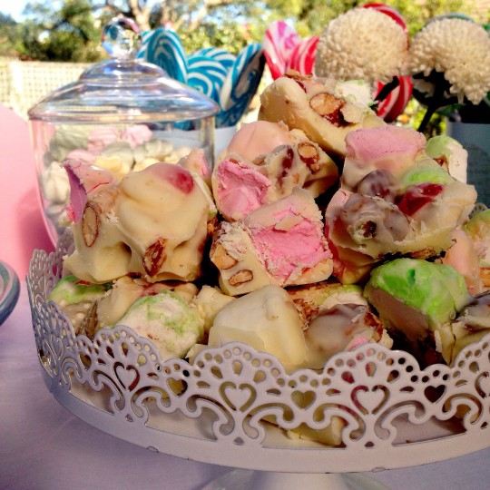 rocky road for Lilla's party