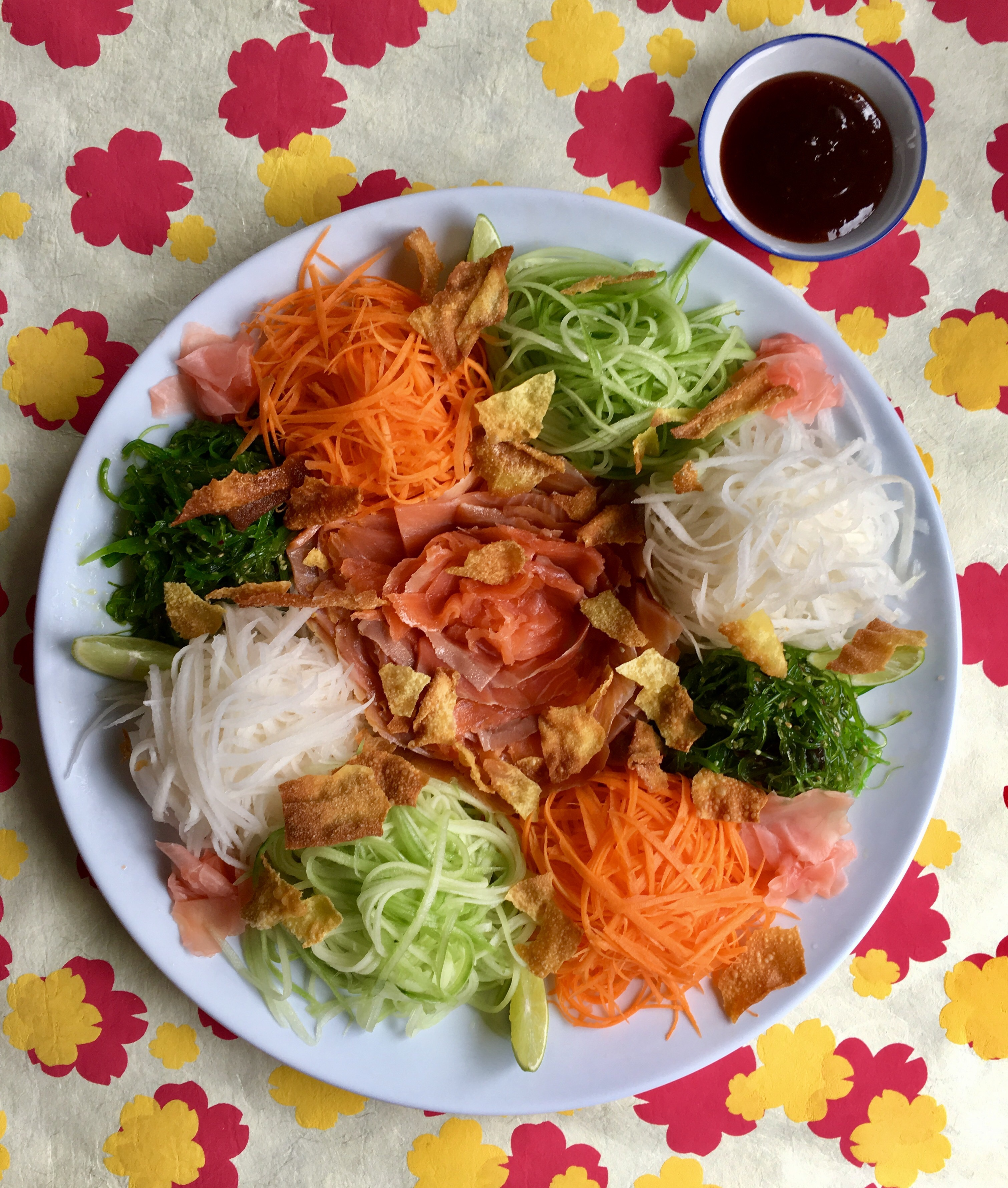 easy yee sang recipe