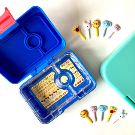 yumbox mini ciel blue